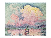 Antibes, the Pink Cloud, 1916 Fine-Art Print