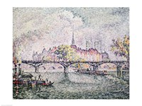 Ile de la Cite, Paris, 1912 Fine-Art Print