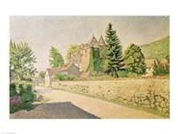 Chateau de Comblat, c.1887 Fine-Art Print