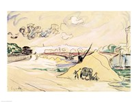 The Pile of Sand, Bercy, 1905 Fine-Art Print