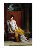 Portrait of Madame Recamier Fine-Art Print