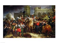 The Entry of Henri IV Fine-Art Print