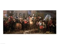 Entry of Henri IV into Paris, 22nd March 1594 Fine-Art Print