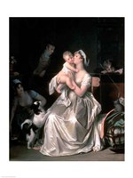 Motherhood, 1805 Fine-Art Print