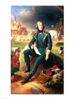 Portrait of General Louis-Lazare Hoche Fine-Art Print