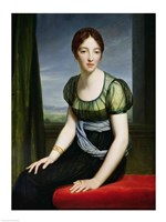 Portrait of Madame Regnault de Saint-Jean d'Angely Fine-Art Print
