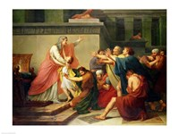 Joseph Recognised by his Brothers Fine-Art Print