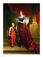 Marie Amelie de Bourbon Fine-Art Print