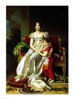 Hortense de Beauharnais and Child Fine-Art Print