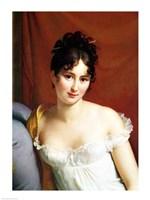 Portrait of Madame Recamier - detail Fine-Art Print