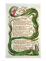 The Divine Image, from Songs of Innocence, 1789 Fine-Art Print