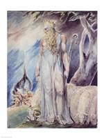 Moses and the Burning Bush Fine-Art Print