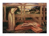 The Christ Child asleep on a Cross, c.1799-1800 Fine-Art Print