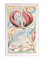 Songs of Innocence; Infant Joy, 1789 Fine-Art Print