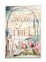The Book of Thel; Title Page, 1789 Fine-Art Print