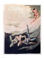 Europe a Prophecy 'Unwilling I look up', 1794 Fine-Art Print