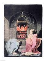Europe a Prophecy; Famine, 1794 Fine-Art Print