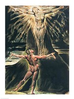 Jerusalem The Emanation of the Giant Albion; Albion before Christ crucified on the Tree of Knowledge and Good and Evil Fine-Art Print