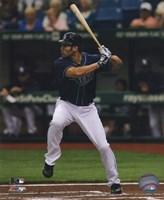 Johnny Damon 2011 Action Fine-Art Print
