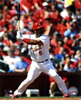 Albert Pujols 2011 Action Fine-Art Print