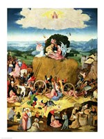 The Haywain: central panel of the triptych, c.1500 Fine-Art Print