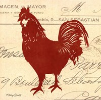 Tuscan Rooster II Fine-Art Print