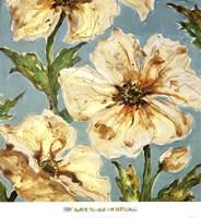 Blue Floral I Fine-Art Print