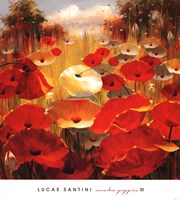 Meadow Poppies III Fine-Art Print