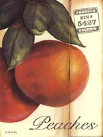 Organic Peaches Fine-Art Print
