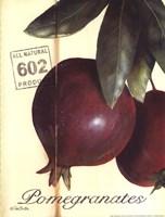Organic Pomegranates Fine-Art Print