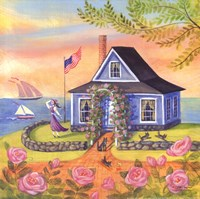 Seafarer Cottage Fine-Art Print