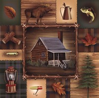 At the Cabin Fine-Art Print