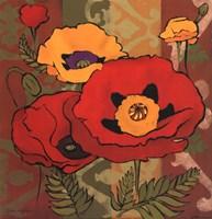 Majestic Poppies I Fine-Art Print