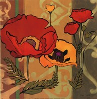 Majestic Poppies II Fine-Art Print