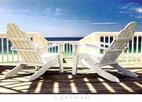 Deck Chairs Fine-Art Print