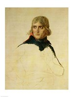 Unfinished portrait of General Bonaparte Fine-Art Print