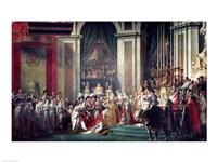 The Consecration of the Emperor Napoleon II Fine-Art Print