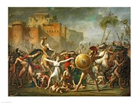 The Sabine Women, 1799 Fine-Art Print