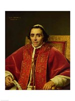 Portrait of Pope Pius VII Fine-Art Print