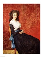 Portrait of Madame Charles-Louis Trudaine Fine-Art Print