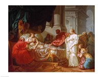 Antiochus and Stratonice, 1774 Fine-Art Print