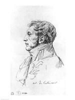Portrait of Armand Augustin Louis. Marquis de Caulaincourt Fine-Art Print