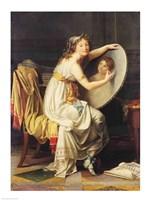 Portrait of Rose Adelaide Ducreux Fine-Art Print