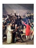 The Tennis Court Oath, 20th June 1789 Portrait Fine-Art Print