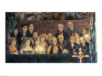 The Consecration of the Emperor Napoleon and the Coronation of the Empress Josephine, Crowd Detail Fine-Art Print