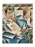 Portrait of Pablo Picasso Fine-Art Print