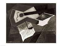 Guitar and Fruit bowl, 1926 Fine-Art Print