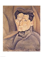 Portrait of Maurice Raynal Fine-Art Print