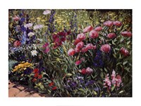 Midsummer Day's Garden II Fine-Art Print