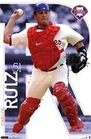 Phillies - C Ruiz 11 Wall Poster